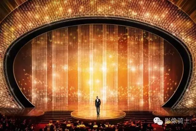 2016届奥斯卡颁奖典礼舞台布景设计